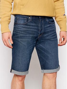 G-Star Raw G-Star Raw Džínové šortky 3301 D17417-C529-B219 Tmavomodrá Slim Fit