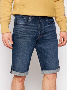 G-Star Raw G-Star Raw Džínsové šortky 3301 D17417-C529-B219 Tmavomodrá Slim Fit