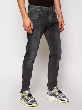 G-Star Raw G-Star Raw Jeans 3301 51001-7863-3143 Grigio Slim Fit