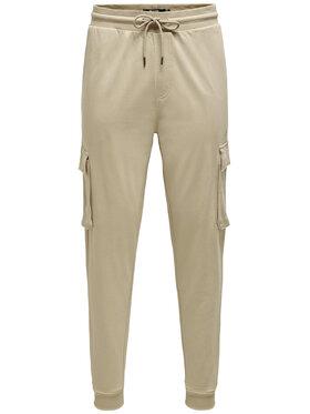 Only & Sons ONLY & SONS Sportinės kelnės Kian 22019485 Ruda Regular Fit