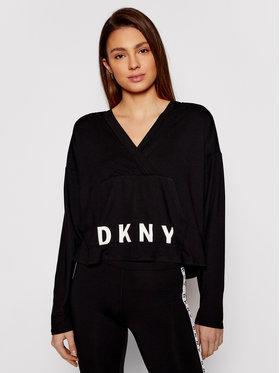 DKNY DKNY Pulóver YI2022471 Fekete Regular Fit