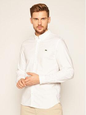 Lacoste Lacoste Camicia CH2671 Bianco Slim Fit