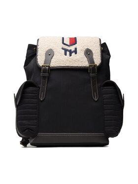 Tommy Hilfiger Tommy Hilfiger Batoh Th Highlight Flap Backpack AM0AM08011 Tmavomodrá