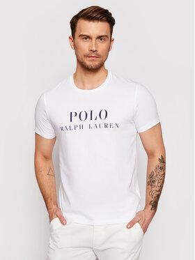 Polo Ralph Lauren Polo Ralph Lauren T-Shirt Crw 714830278006 Λευκό Regular Fit