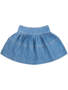 Little Marc Jacobs Little Marc Jacobs Jupe W13100 S Bleu Regular Fit