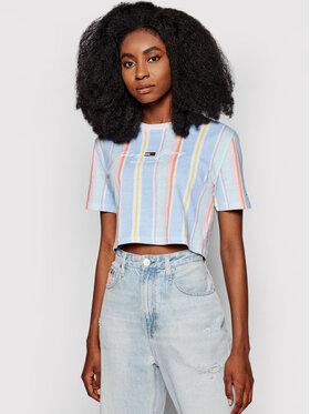 Tommy Jeans Tommy Jeans Tricou Stripe 1 Crop DW0DW10961 Colorat Cropped Fit