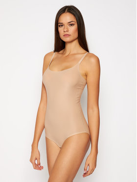 Chantelle Chantelle Body Soft Stretch C10680 Beżowy Slim Fit