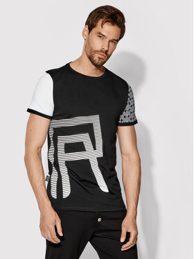Rage Age Rage Age T-Shirt Connor 1 Czarny Slim Fit