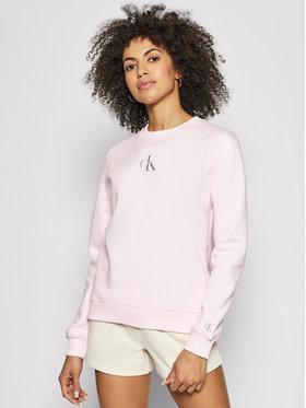 Calvin Klein Jeans Calvin Klein Jeans Bluza J20J215485 Różowy Regular Fit