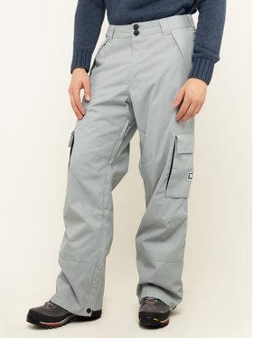 DC Snowboardové nohavice Banshee EDYTP03047 Sivá Regular Fit