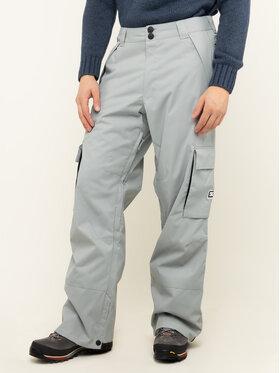 DC DC Spodnie snowboardowe Banshee EDYTP03047 Szary Regular Fit