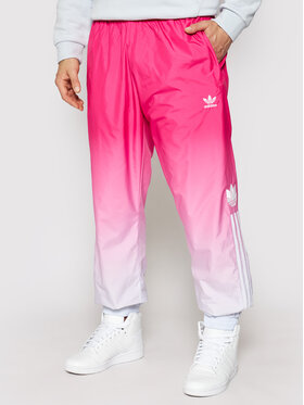 adidas adidas Pantaloni trening 3D Tf Om GN3586 Roz Regular Fit