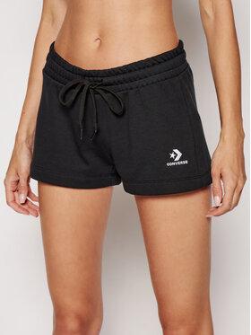 Converse Converse Sportske kratke hlače Embroidered Star Chevron 10020163-A01 Crna Regular Fit