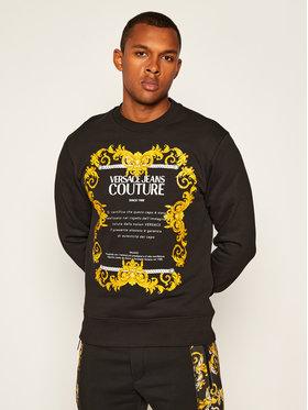 Versace Jeans Couture Versace Jeans Couture Sweatshirt B7GZA7TT Schwarz Slim Fit