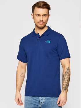 The North Face The North Face Tricou polo Piquet NF00CG71 Bleumarin Regular Fit