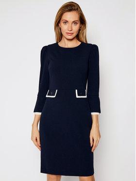 DKNY DKNY Kokteilinė suknelė DD0K1066 Tamsiai mėlyna Regular Fit