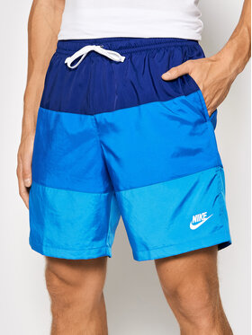 Nike Nike Спортни шорти Sportswear City Edition CJ4486 Тъмносин Regular Fit