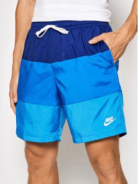 Nike Nike Sportovní kraťasy Sportswear City Edition CJ4486 Tmavomodrá Regular Fit