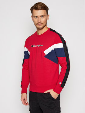 Champion Champion Sweatshirt Colour Block Insert 214786 Bunt Comfort Fit