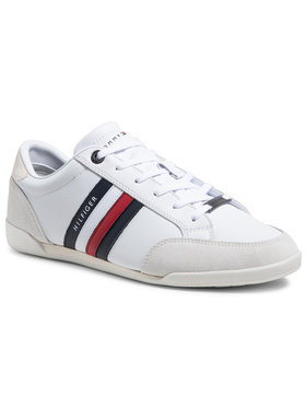 Tommy Hilfiger Tommy Hilfiger Sneakers Corporate Material Mix Cupsole FM0FM03429 Blanc