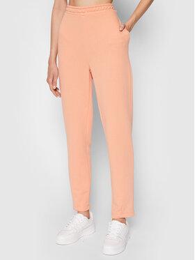 NA-KD NA-KD Teplákové kalhoty Cocoon 1100-004270-0569-003 Oranžová Regular Fit