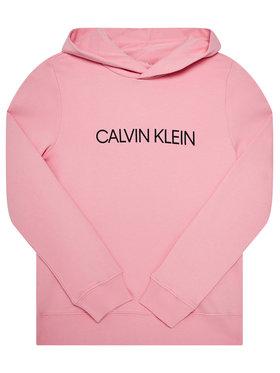 Calvin Klein Jeans Calvin Klein Jeans Pulóver Institutional Logo IU0IU00163 Rózsaszín Regular Fit
