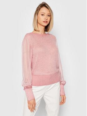 Guess Guess Sweter Danila W1BH07 WE520 Różowy Slim Fit