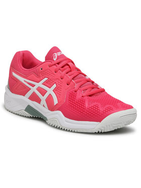 Asics Asics Buty Gel-Resolution 8 Clay Gs 1044A019 Różowy