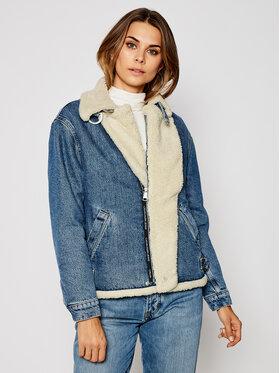 Calvin Klein Jeans Calvin Klein Jeans Kurtka jeansowa Biker J20J214566 Granatowy Regular Fit