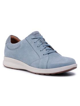 Clarks Clarks Sportcipő Un Adorn Lace 261402445 Kék