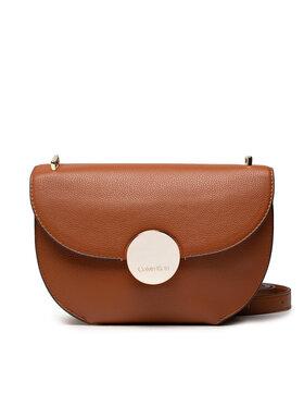 Calvin Klein Calvin Klein Дамска чанта Ck Luxe Ew Shoulder Bag K60K608434 Кафяв