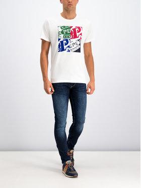 Pepe Jeans Pepe Jeans Дънки тип Slim Fit PM200338DA52 Тъмносин Slim Fit