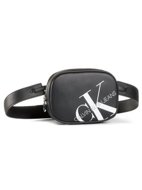 Calvin Klein Jeans Calvin Klein Jeans Чанта за кръст Round Waistbag K60K606853 Черен