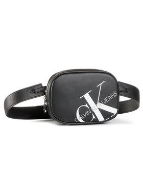 Calvin Klein Jeans Calvin Klein Jeans Saszetka nerka Round Waistbag K60K606853 Czarny