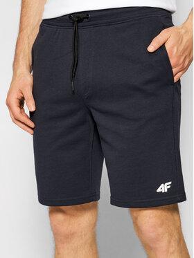 4F 4F Pantaloni scurți sport OSH4-SKMD001 Bleumarin Regular Fit