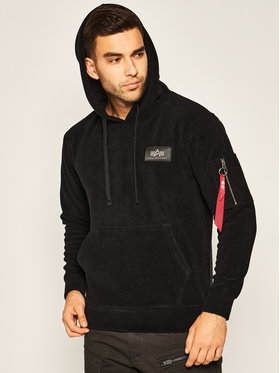 Alpha Industries Alpha Industries Polar Polar Fleece 128345 Czarny Regular Fit