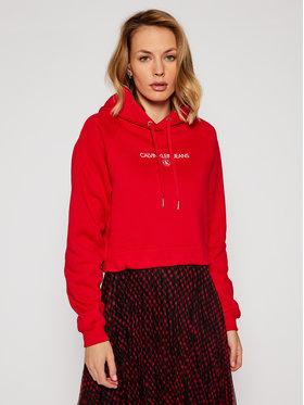 Calvin Klein Jeans Calvin Klein Jeans Džemperis J20J215128 Raudona Regular Fit