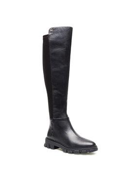MICHAEL Michael Kors MICHAEL Michael Kors Mušketýrky Ridley Boot 40R1RIFB5L Černá