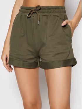 Pepe Jeans Pepe Jeans Sportske kratke hlače Aina PL800969 Zelena Regular Fit