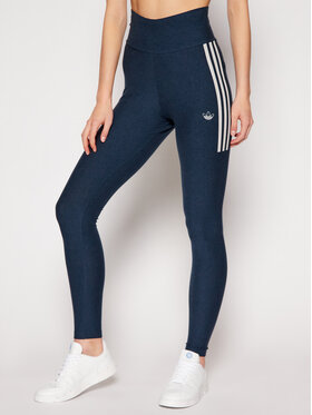 adidas adidas Leggings Fakten Tights GN4400 Blu scuro Slim Fit