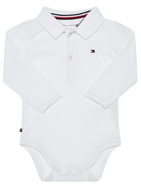 TOMMY HILFIGER TOMMY HILFIGER Body da neonato KN0KN01176 Bianco Regular Fit