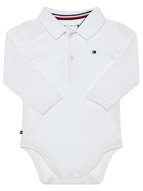 TOMMY HILFIGER TOMMY HILFIGER Κορμάκι παιδικό KN0KN01176 Λευκό Regular Fit