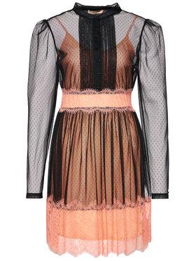 TwinSet TwinSet Φόρεμα κοκτέιλ 202TP2201 Μαύρο Refular Fit