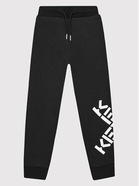 Kenzo Kids Kenzo Kids Sportinės kelnės K24069 Juoda Regular Fit