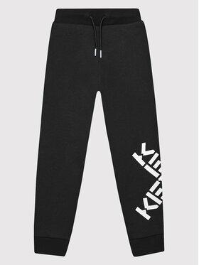 Kenzo Kids Kenzo Kids Teplákové kalhoty K24069 Černá Regular Fit