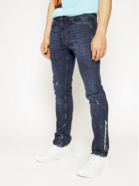 Iceberg Iceberg Regular Fit Jeans 19IMP02203600133 Dunkelblau Regular Fit