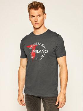 Trussardi Jeans Trussardi Jeans T-Shirt 52T00374 Šedá Regular Fit