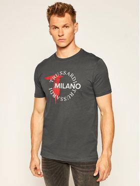 Trussardi Jeans Trussardi Jeans T-Shirt 52T00374 Szary Regular Fit