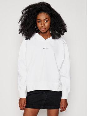 Calvin Klein Jeans Calvin Klein Jeans Džemperis J20J215462 Balta Regular Fit