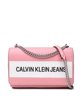 Calvin Klein Jeans Calvin Klein Jeans Дамска чанта Ew Flap Convertible K60K608562 Розов